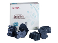 Xerox - 6 - cyan - encres solides - pour Phaser 8860DN, 8860MFP/D 108R00746