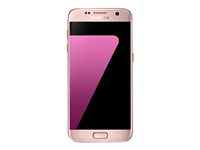 "Samsung Galaxy S7 - SM-G930F - smartphone Android - 4G LTE - 32 Go - microSDXC slot - TD-SCDMA / UMTS / GSM - 5.1"" - 2560 x 1440 pixels ( 577 ppi ) - Super AMOLED - 12 MP (caméra avant 5 MP) - Android - rose/or SM-G930FEDAXEF"