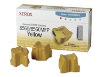 Xerox - 3 - jaune - encres solides - pour Phaser 8560 108R00725