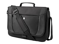 "HP Essential Messenger Case - Sacoche pour ordinateur portable - 17.3"" - pour EliteBook 1040 G3, 745 G3, 755 G3; Pavilion Gaming; Pro Tablet 610 G1; Spectre Pro x360 G2 H1D25AA"